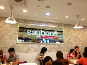 Hunt for Crepes- Saybons Plaza Singapura Basement 1