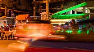 stock-footage-bangkok-april-time-lapse-view-of-bangkok-street-bar-on-april-in-sukkhumvit-soi-in