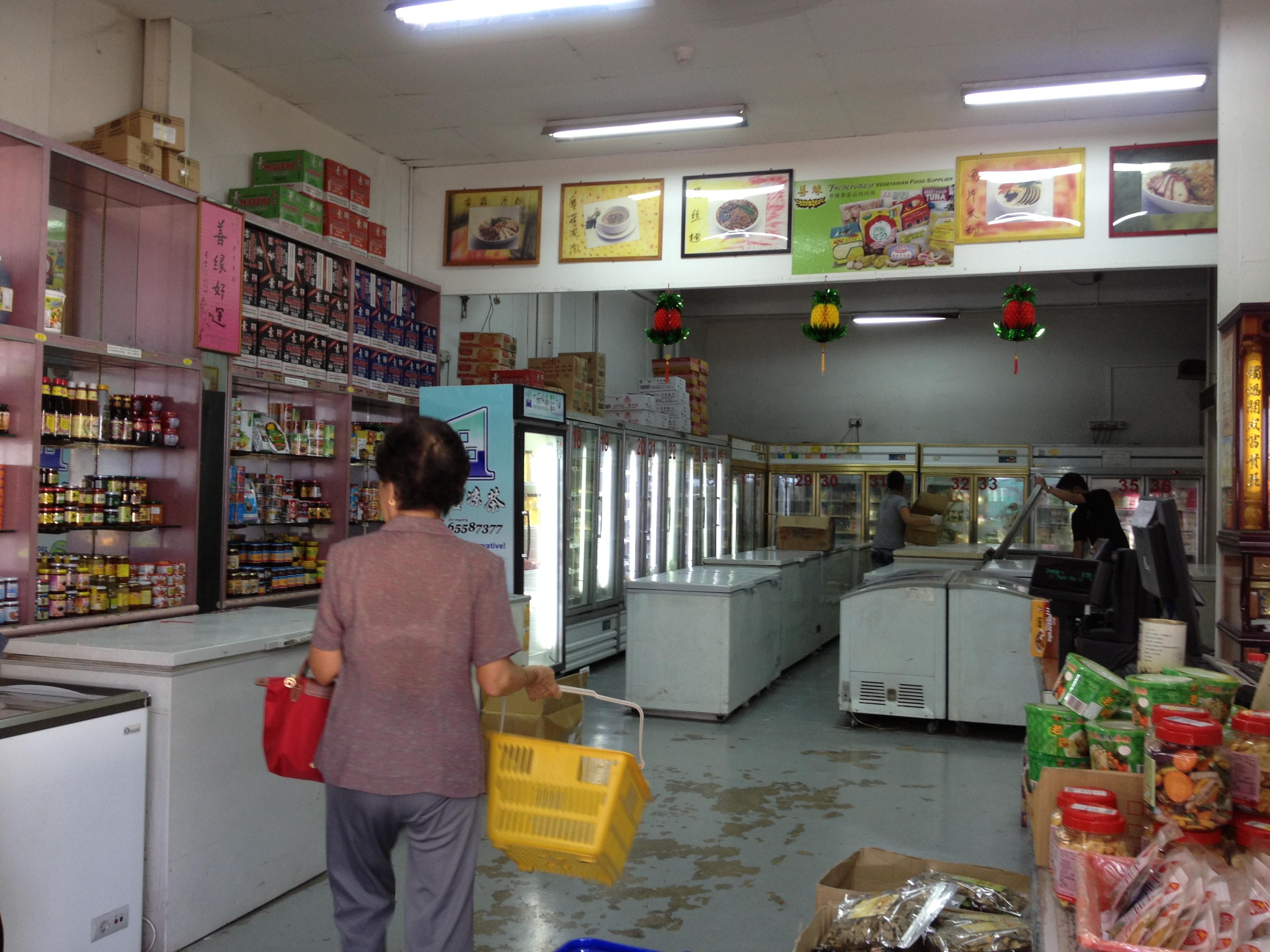 Vegetarian Groceries Shopping Trip- Pasir Panjang Wholesale