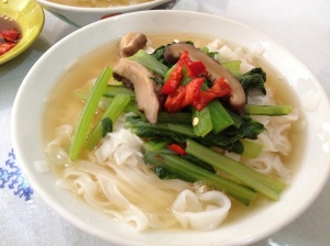 Home Cooking- Kway Teow Soup