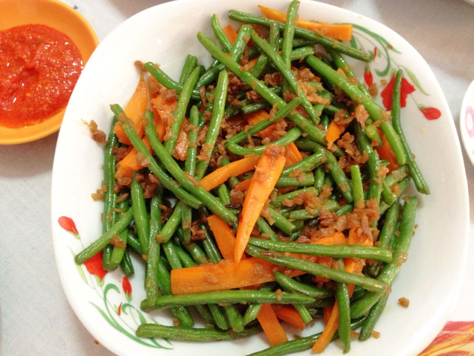 how to prepare and cook french beans