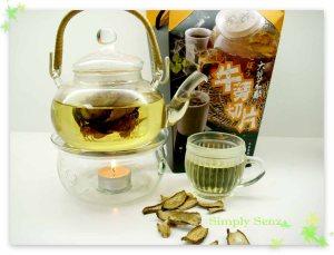 SimplySenz_burdock_Tea_infusion