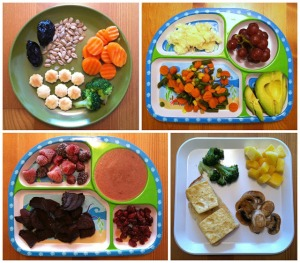 Vegan Toddler Meals Collage 1