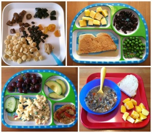 Vegan Toddler Meals Collage 2