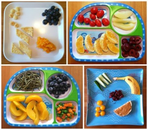 Vegan Toddler Meals Collage 3