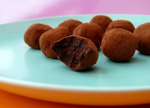 raw chocolate orange truffles 2