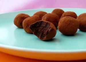 raw chocolate orange truffles 2