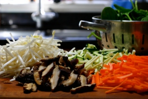 Home Cooking- Vegan Bibimbap