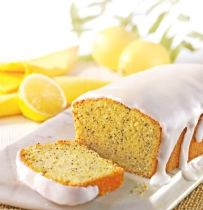 Home Baking- Lemon Chia Seeds Crazy Cake