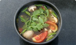 Home Cooking- Vegan Tom Yam Kway Teow Soup