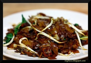 Home Cooking- Vegan Char Kway Teow