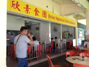 Roti Prata- Divine Vegetarian Family Restaurant Hougang Ave 7