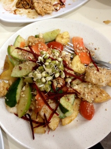 Fruit Rojak at Sunny Choice Cafe, Railway Mall