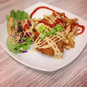 Vegan Western Food at School Canteen Prices- Little Prince Cuisine at Ngee Ann Polytechnic